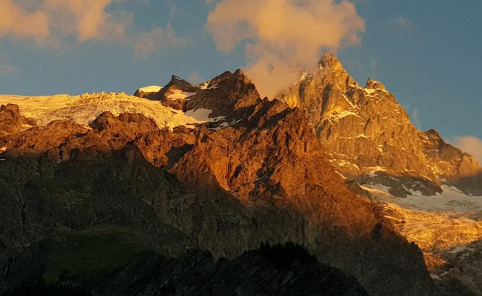 Tour des Écrins en 4 jours en trail