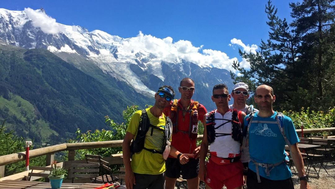 Tour du Mont Blanc en trail en 4 jours avec Julien Chorier