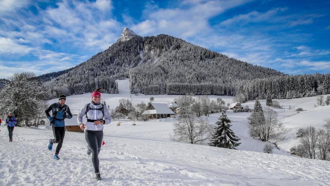 Initiation au trail blanc en Chartreuse