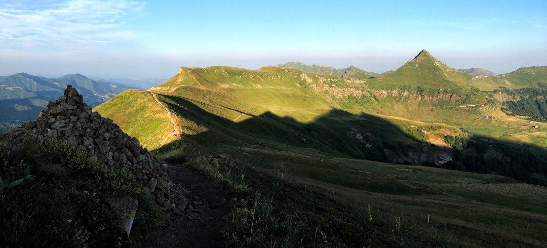UY MARY Reconnaissance Championnats de France de trail 2020 dans le Cantal