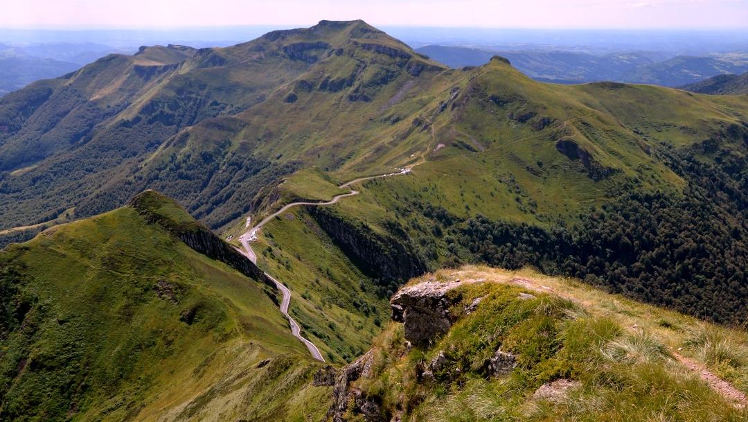 Reconnaissance Championnats de France de trail dans le Cantal