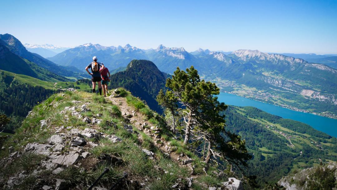 Grande traversée Annecy-Chamonix en 4 jours