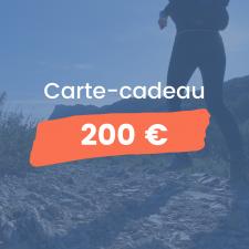 Offrez un stage de trail à vos amis et à vos proches avec cette carte-cadeau pour un stage de trail d'une valeur de 300€