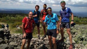 Training Camp trail dans le Pilat avec Frédéric Tranchand